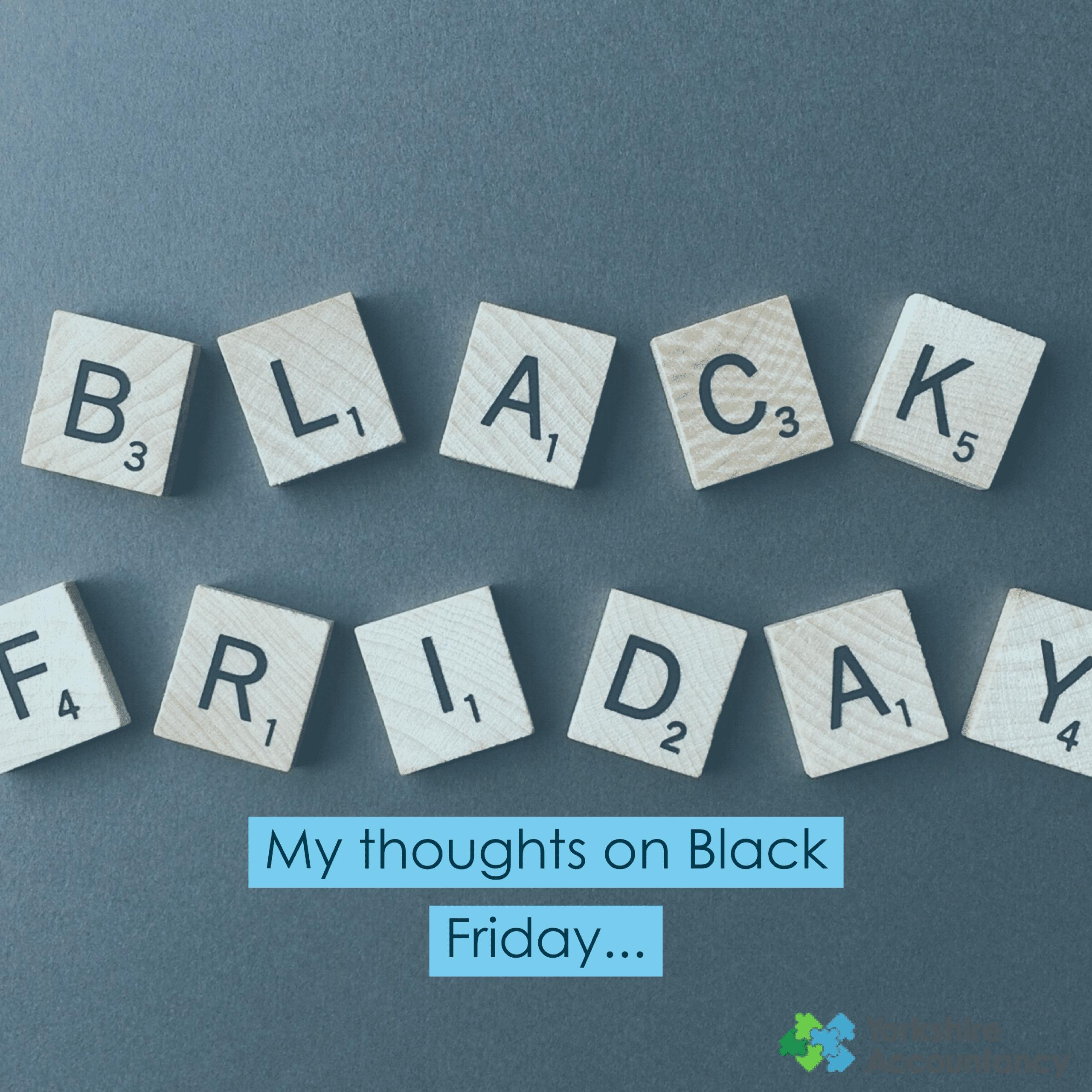 Black Friday Deals or Black Friday Steals