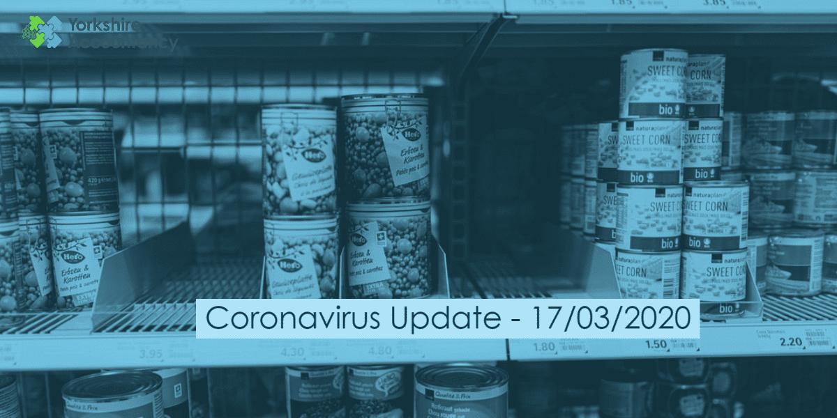Coronavirus Update – 17/03/2020