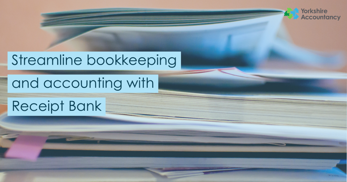 Streamline Bookkeeping and Accounting with Receipt Bank