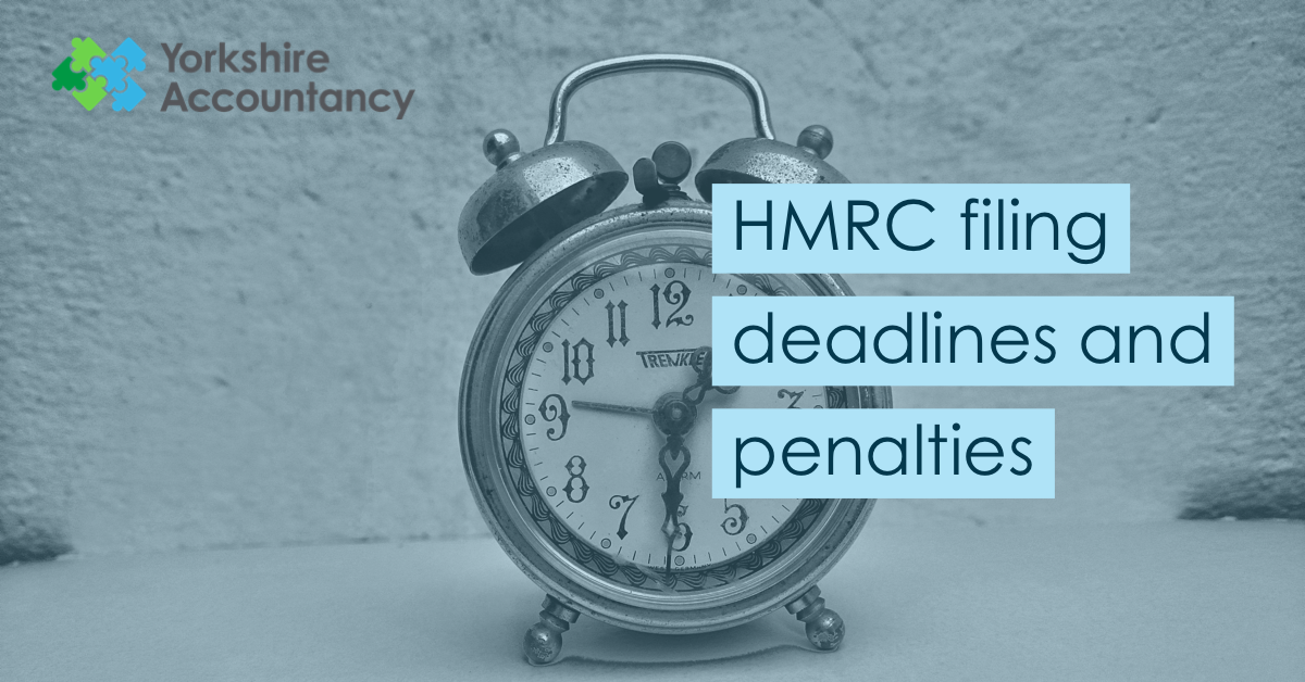 HMRC Deadlines and Penalties: All you need to know!
