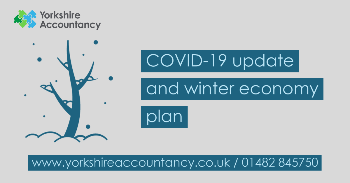 COVID-19 update and winter economy plan