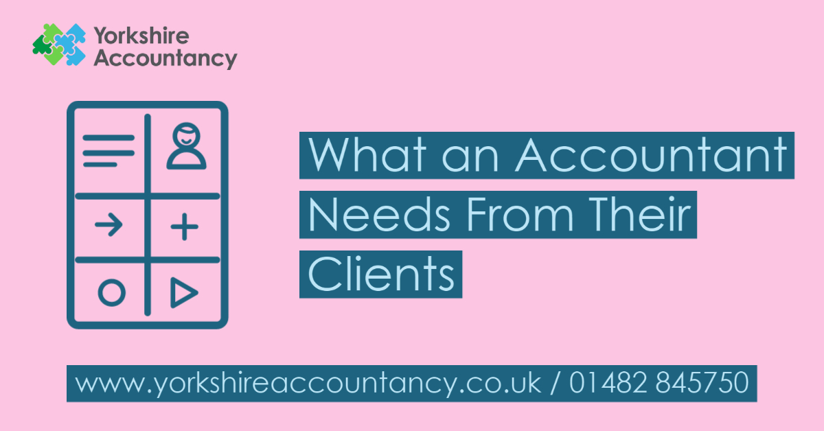 What an Accountant Needs from Their Clients