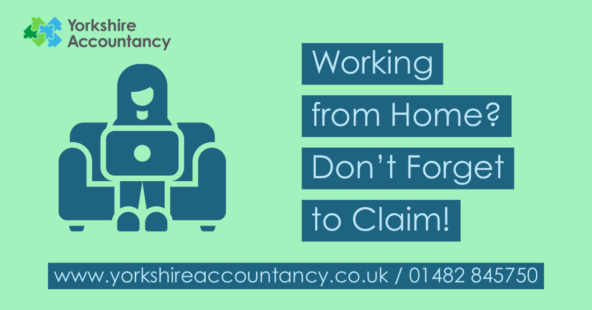 Simplified Expenses for Working from Home – Don't Forget to Claim!