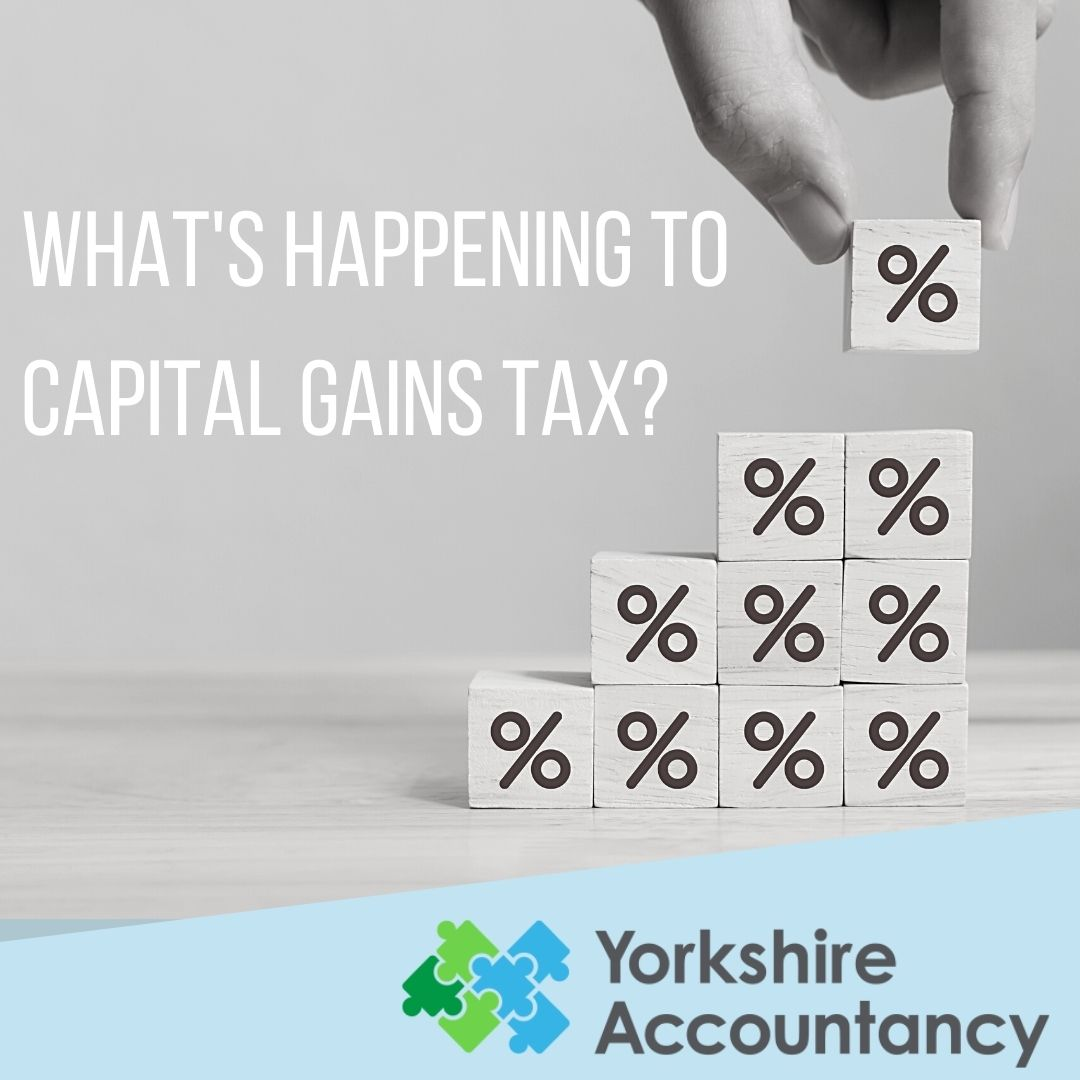 What's Happening to Capital Gains Tax?